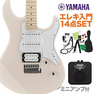 YAMAHA PACIFICA112VM SOP エレキギター初心者14点セット 【ミニアンプ付き】 エレキギター ソニックピンク 【ヤマハ パシフィカ PAC112】