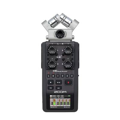 ZOOM H6 Black Edition ハンディレコーダー Handy Recorder 【ズーム】
