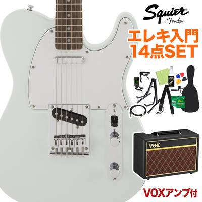 Squier by Fender FSR Affinity SeriesTelecaster Laurel Fingerboard Sonic Blue 初心者14点セット 【VOXアンプ付き】 エレキギター テレキャスター 【スクワイヤー / スクワイア】