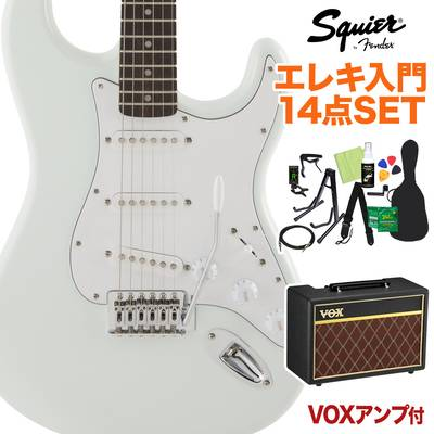 Squier by Fender FSR Affinity SeriesStratocaster Laurel Fingerboard Sonic Blue 初心者14点セット 【VOXアンプ付き】 エレキギター ストラトキャスター 【スクワイヤー / スクワイア】