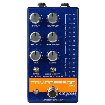 empress effects Compressor MKII Blue コンパクトエフェクター コンプレッサー 【エンプレスエフェクト】
