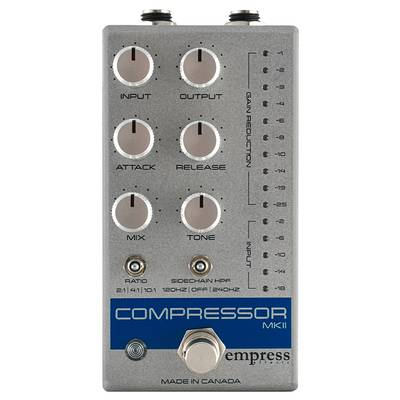empress effects Compressor MKII Grey コンパクトエフェクター コンプレッサー 【エンプレスエフェクト】