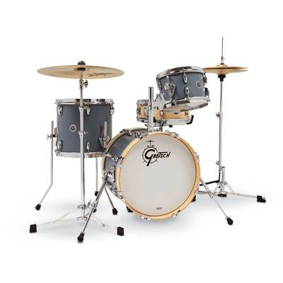 GRETSCH BROOKLYN MICRO KIT Satin Grey ドラムセット 【グレッチ GB-M264-SG】