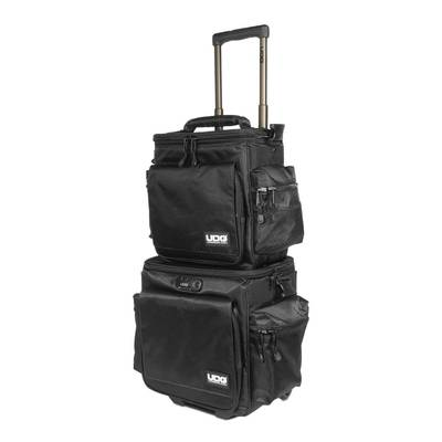 UDG Ultimate SlingBag Trolley Set DeLuxe Black/Orange Inside MK2 キャリーケース 持ち運び トローリーバッグ 【 U9679BL/OR】