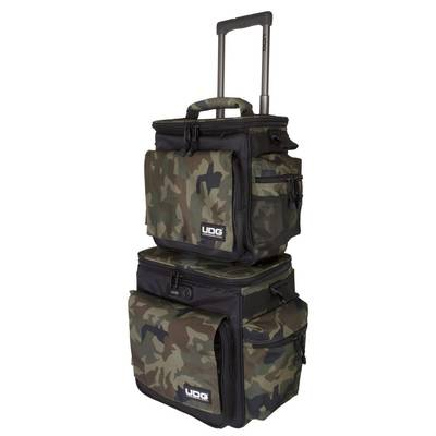 UDG Ultimate SlingBag Trolley Set DeLuxe Black Camo Orange Inside キャリーケース 持ち運び トローリーバッグ 【 U9679BC/OR】