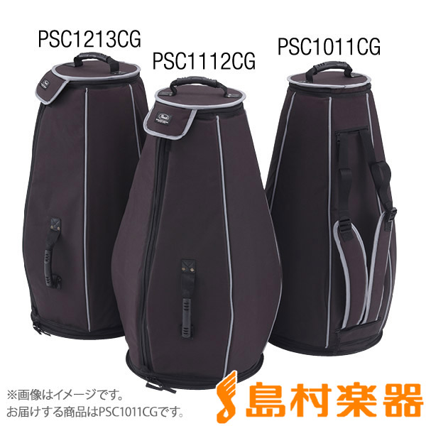 "Pearl PSC1011CG ソフトケース(コンガ用 10""用 11""用) 【パール】"