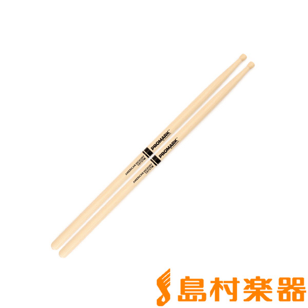 Promark TX737W スティック/ヒッコリー Hickory 737 Wood Tip Drumstick 【プロマーク】