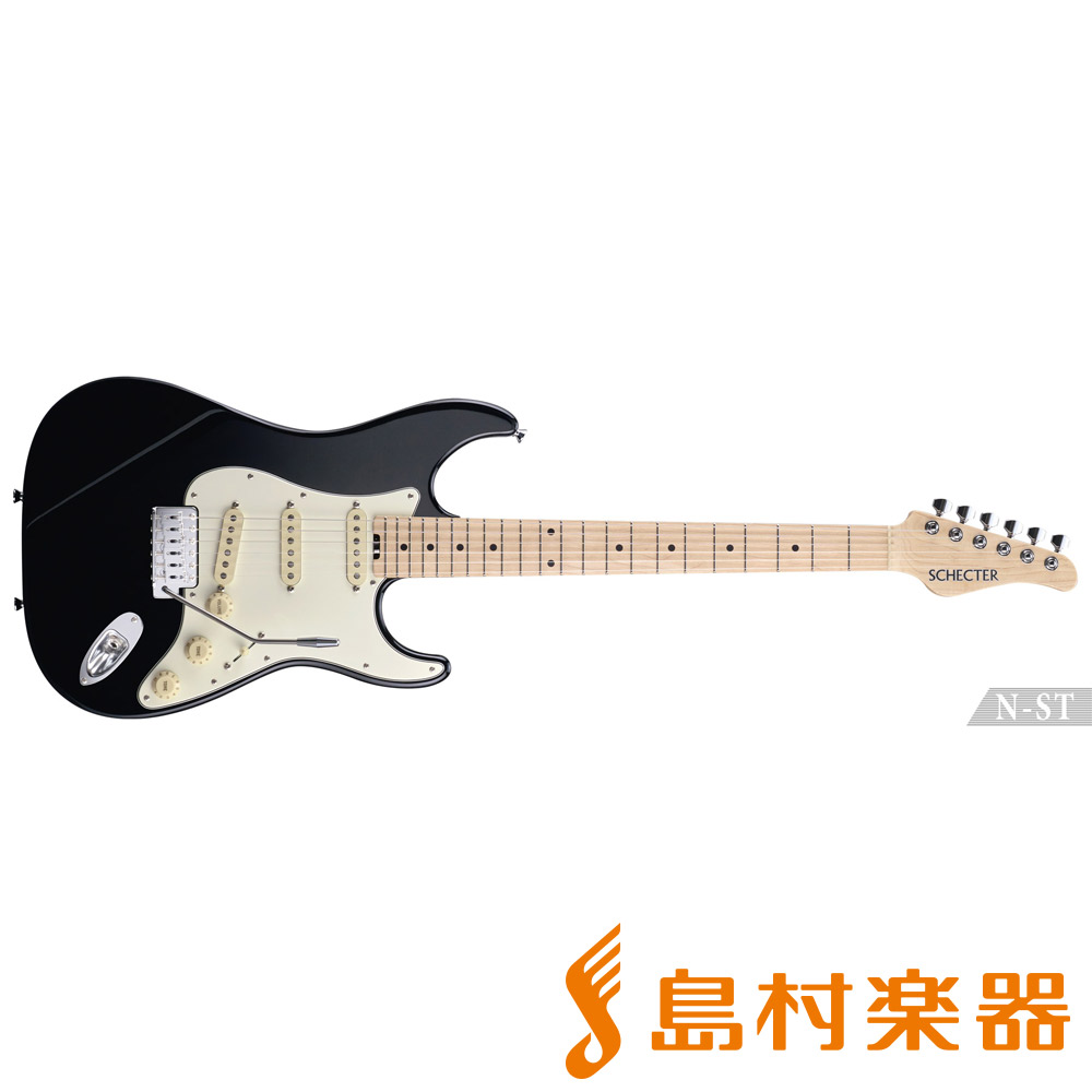 SCHECTER N-ST-AL/M BLK エレキギター N SERIES 【シェクター】