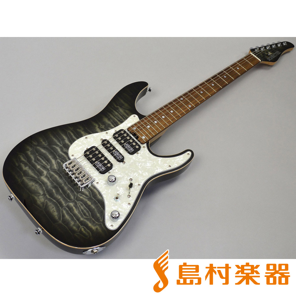 SCHECTER SD-DX-24-AS-FXD/R BKNS エレキギター 【シェクター】