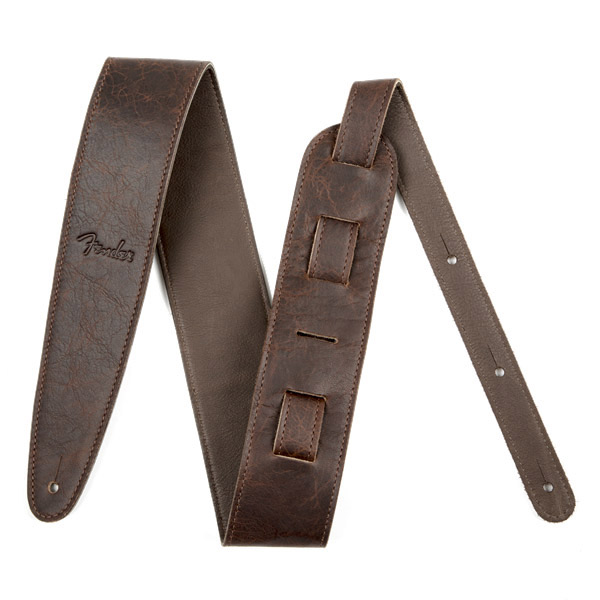 Fender FENDER ARTISAN CRAFTED LEATHER STRAPS - 2.5' ストラップ 【フェンダー】