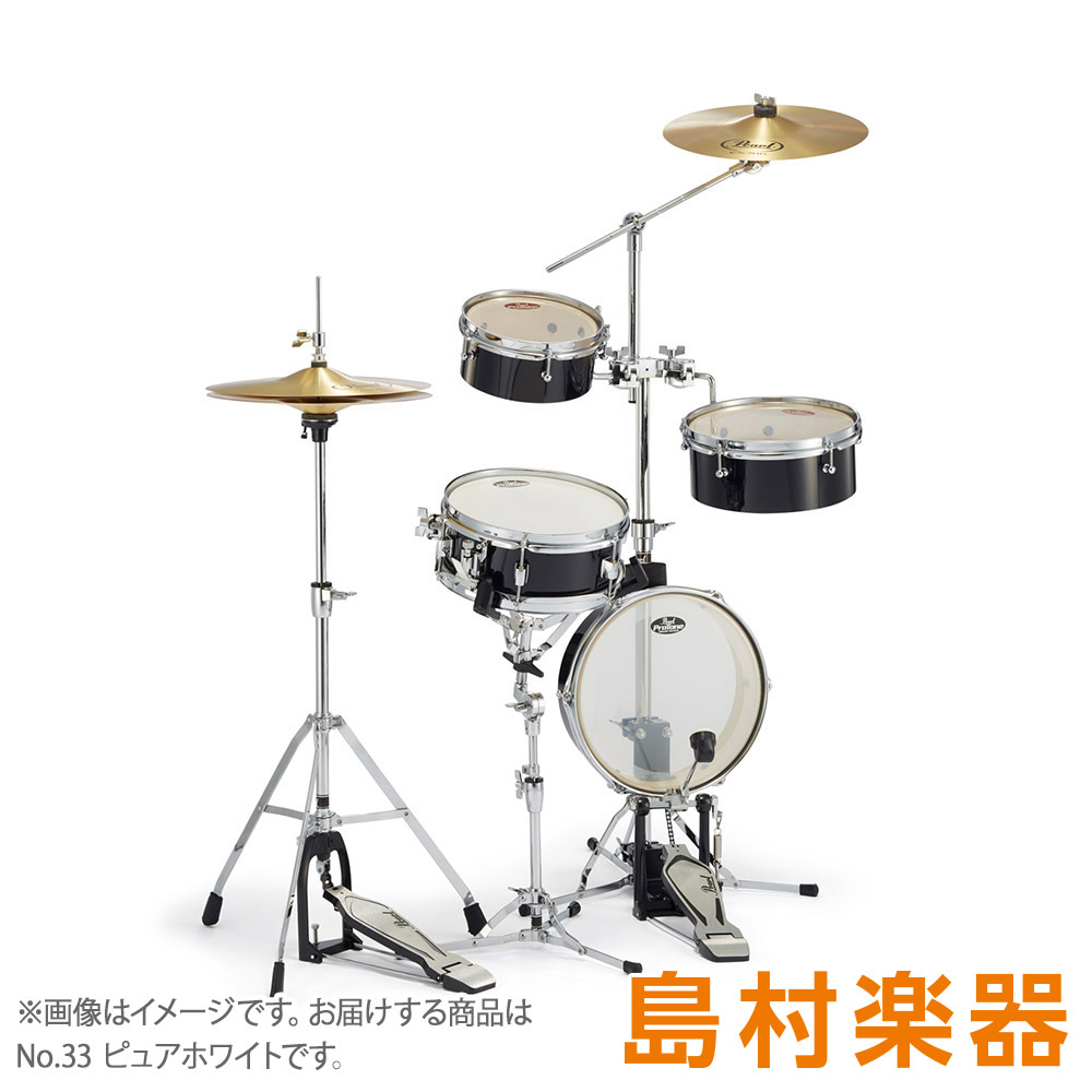 Pearl Rhythm Traveler Light RT-5124N ドラムセット Rhythm Traveler Light 【パール】