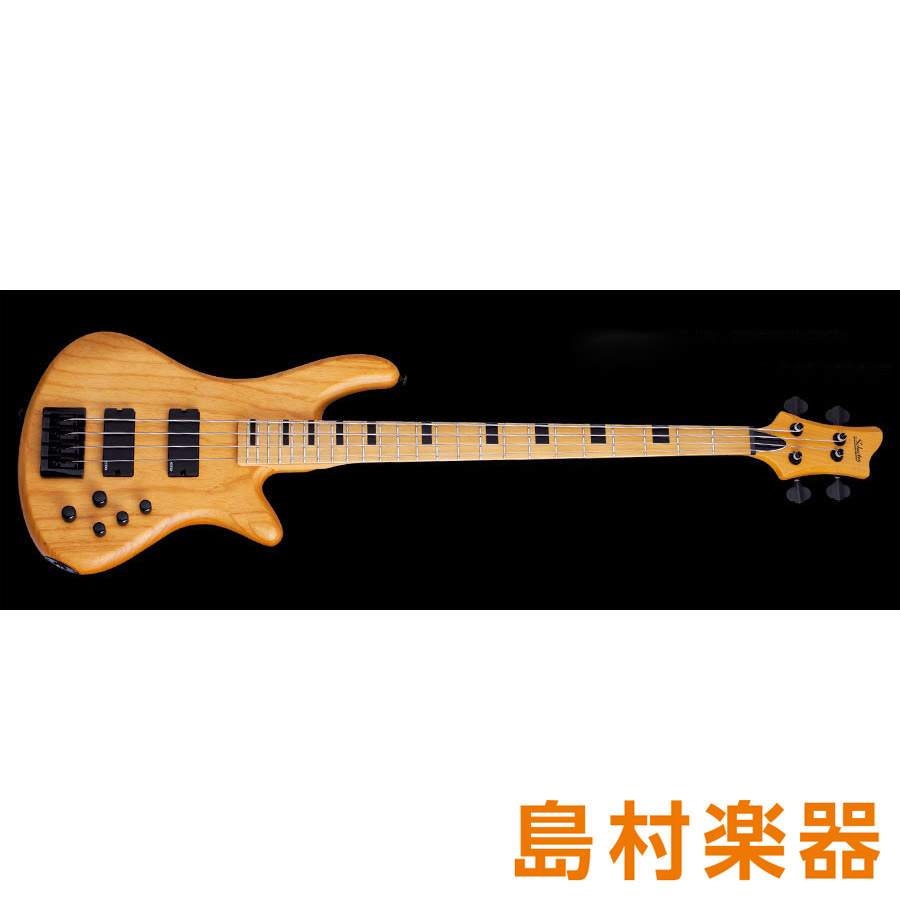 SCHECTER AD-SL-SS4 Aged Natural Satin エレキベース DIAMOND SERIES SESSION STILETTO COLLECTION 【シェクター】