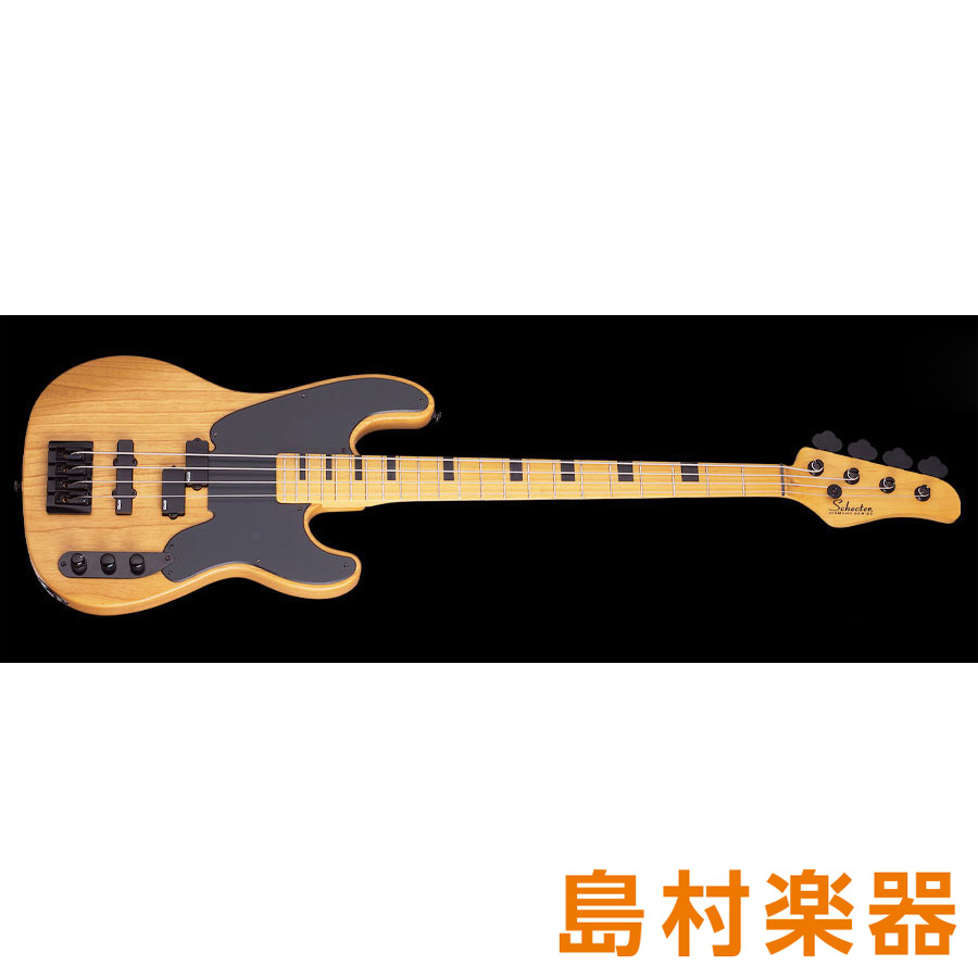 SCHECTER AD-MT-SS-4 Aged Natural Satin エレキベース DIAMOND SERIES MODEL-T SESSION 【シェクター】