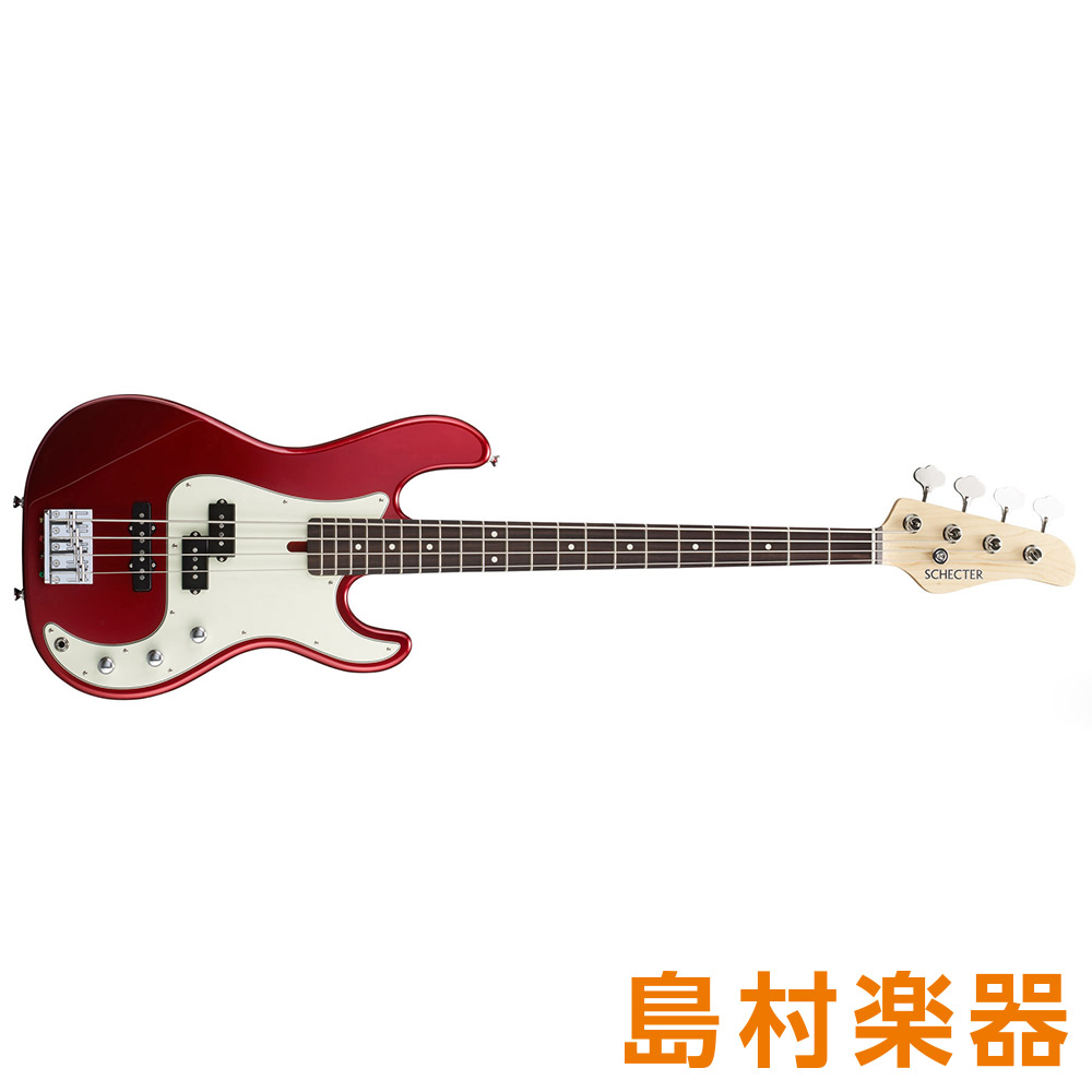 SCHECTER N-PJ-AL/R Candy Apple Red エレキベース N SERIES 【シェクター】