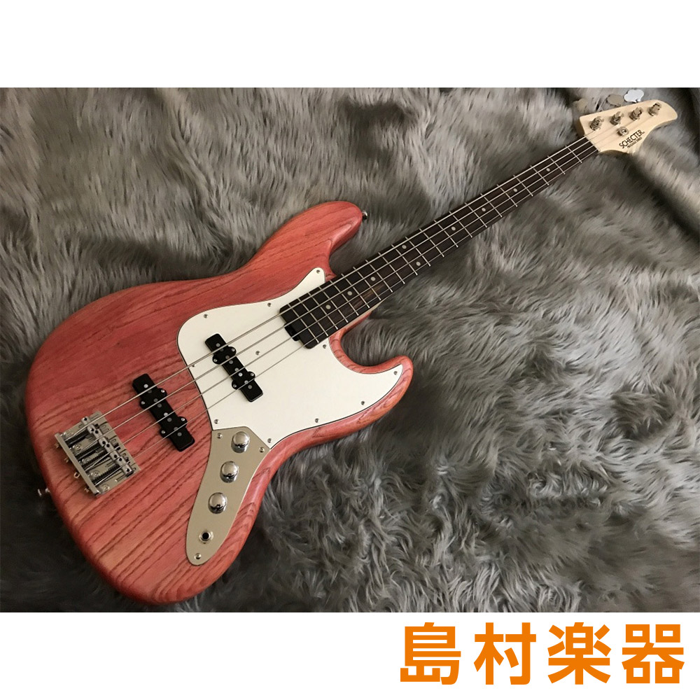 SCHECTER PS-S-JB/R Scarlet Tint-Oil エレキベース S SERIES 限定モデル 【シェクター】