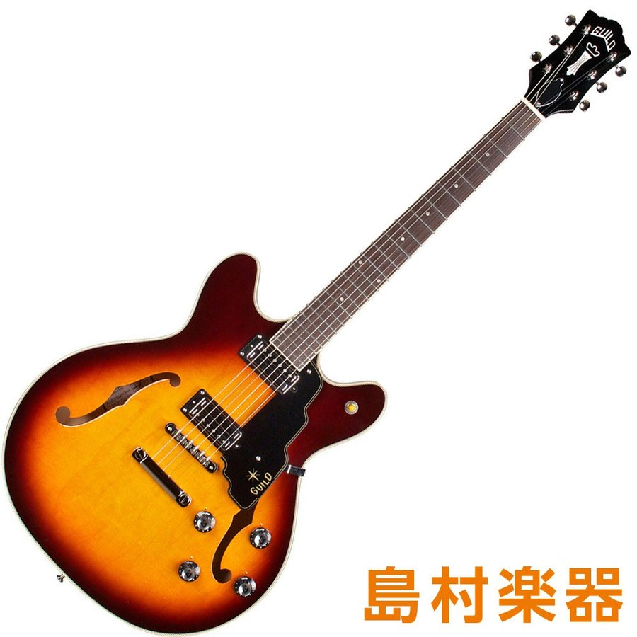 Guild STARFIRE IV ST Antique Burst セミアコギター NEWARK ST. COLLECTION 【ギルド】