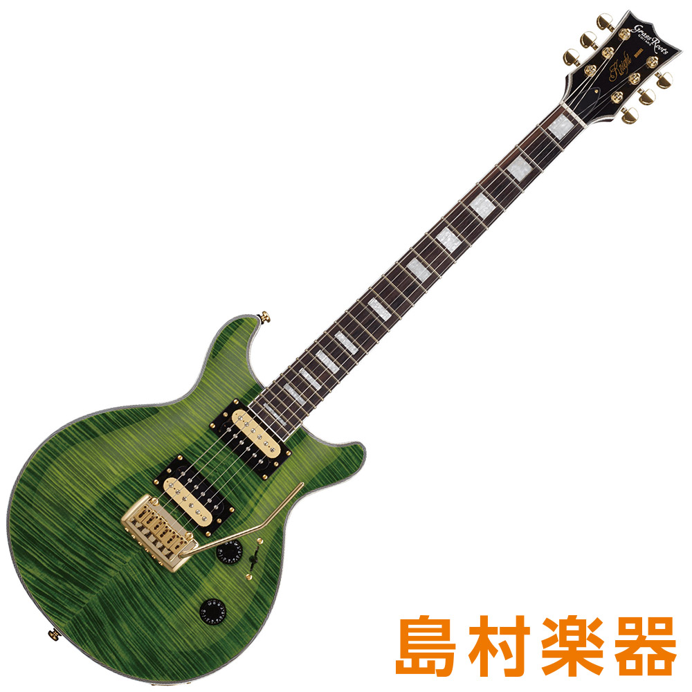 GrassRoots G-KT-60C See Thru Green エレキギター 【グラスルーツ】