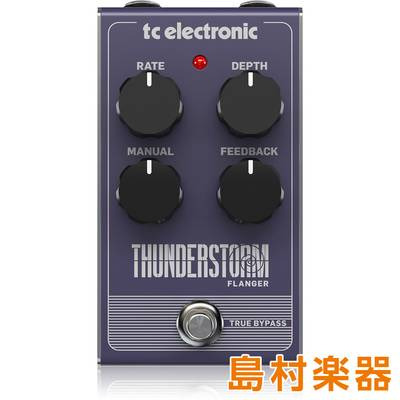 TC Electronic Thunderstorm Flanger コンパクトエフェクター フランジャー 【TC エレクトロニック】