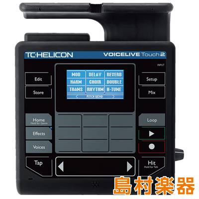 TC-HELICON VOICELIVE TOUCH 2 ボーカル用エフェクター 【TCヘリコン】