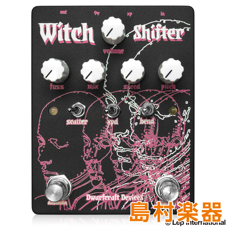dwarfcraft devices Witch Shifter コンパクトエフェクター ファズ 【ドワーフクラフトフェヴァイ】
