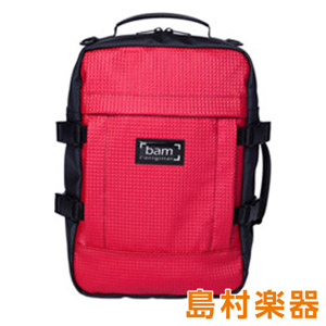 BAM Backpack A+R レッド ギターケースバックパック 【バム】