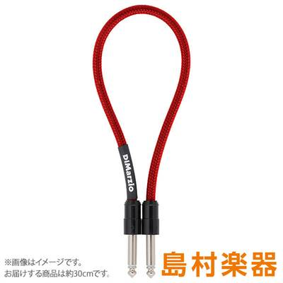 DiMarzio PC112SS Red ペダル・ボード・ケーブル 30cm S-S Pedal Board Cables SS 【ディマジオ】