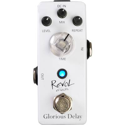 Revol effects Glorious Delay EDL-01 コンパクトエフェクター ディレイ 【レヴォル】