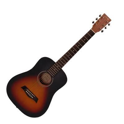 S.Yairi YM-02/VS Vintage Sunburst (Satin Finish) ミニアコースティックギター Compact-Acoustic Series 【Sヤイリ】
