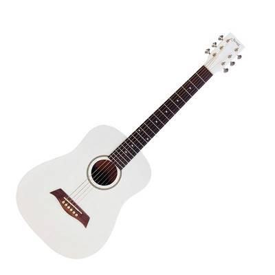 S.Yairi YM-02/WH WHITE (Satin Finish) ミニアコースティックギター Compact-Acoustic Series 【Sヤイリ】