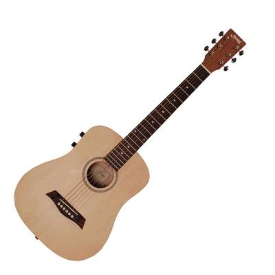 S.Yairi YM-02E/NTL Natural (Satin Finish) ミニエレアコギター Compact-Acoustic Series 【Sヤイリ】
