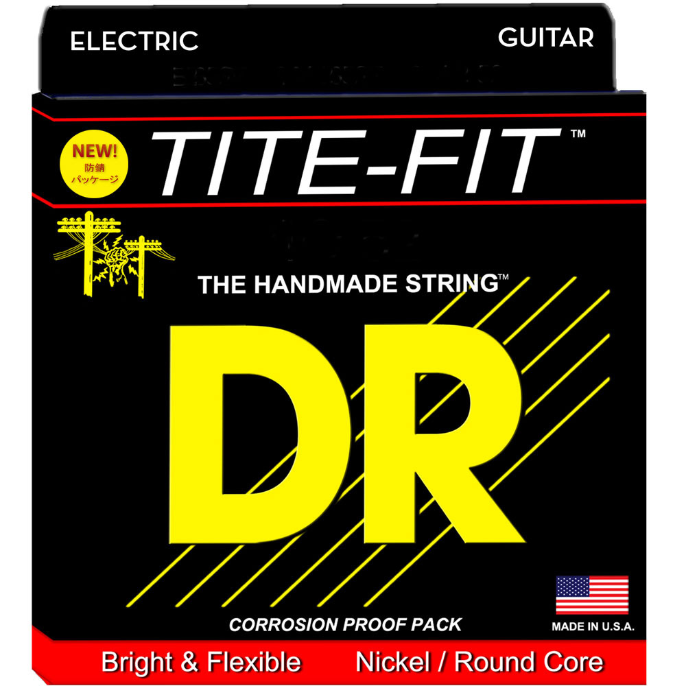 DR LT7-9 エレキギター弦 TITE FIT 7 STRING LITE 09-52