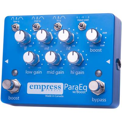 empress effects ParaEQ コンパクトエフェクター イコライザー 【エンプレスエフェクト】