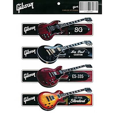 Gibson G-STICKER3 Guitar Sticker Pack ステッカー 【ギブソン 】