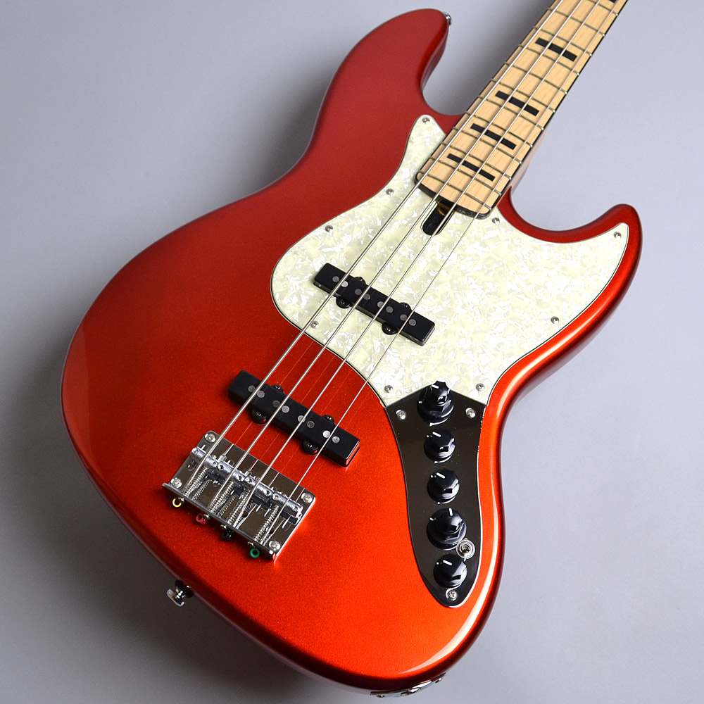 Sire Marcus Miller V7 Vintage 4ST Swamp Ash / Bright Metalic Red ジャズベースタイプ 【サイアー】【アクティブ4弦】