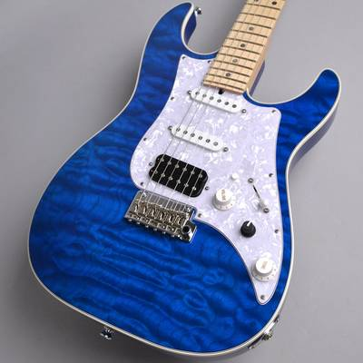 James Tyler JAPAN STUDIO ELITE HD 5A Quilted Maple /Solid Alder Back /Multi Binding /Maple /Transparent Blue MH ギター 【ジェームスタイラー】【新宿PePe店】