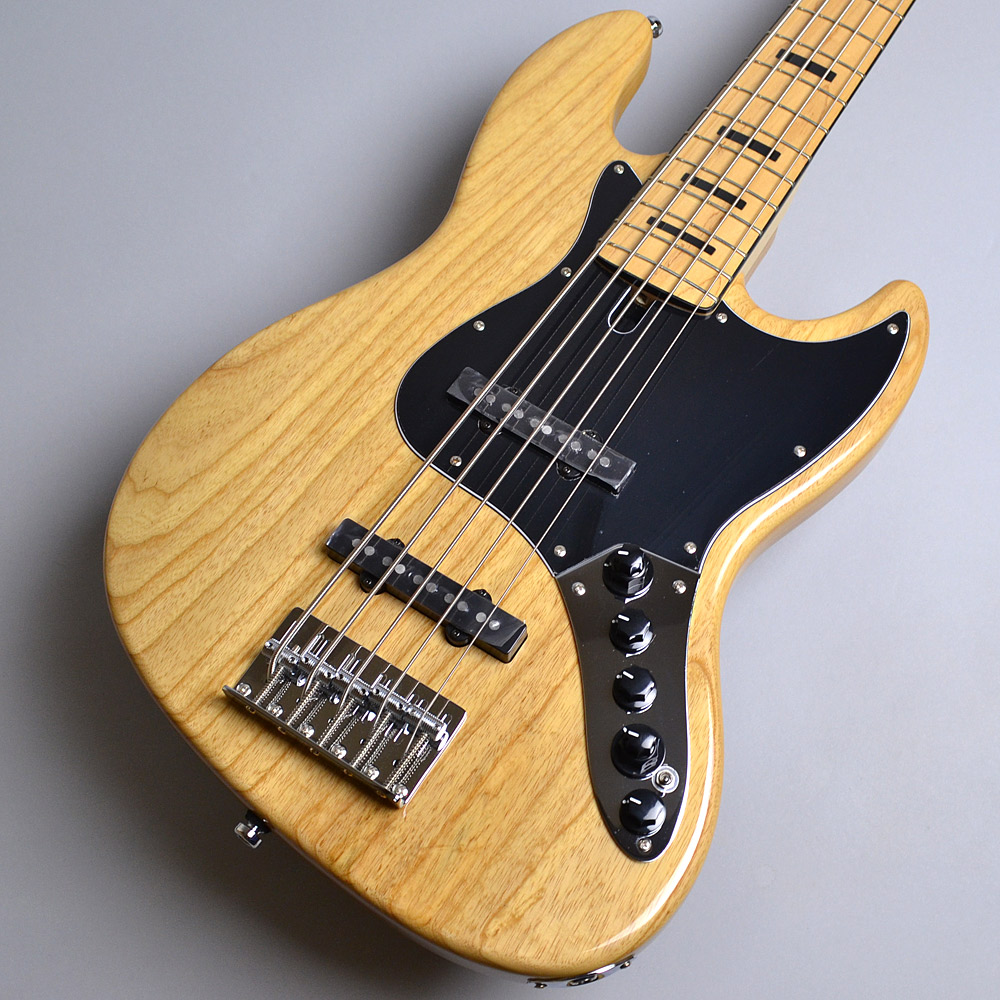 Sire Marcus Miller V7 Vintage 5ST Swamp Ash / Natural ジャズベースタイプ 【サイアー】【アクティブ5弦】