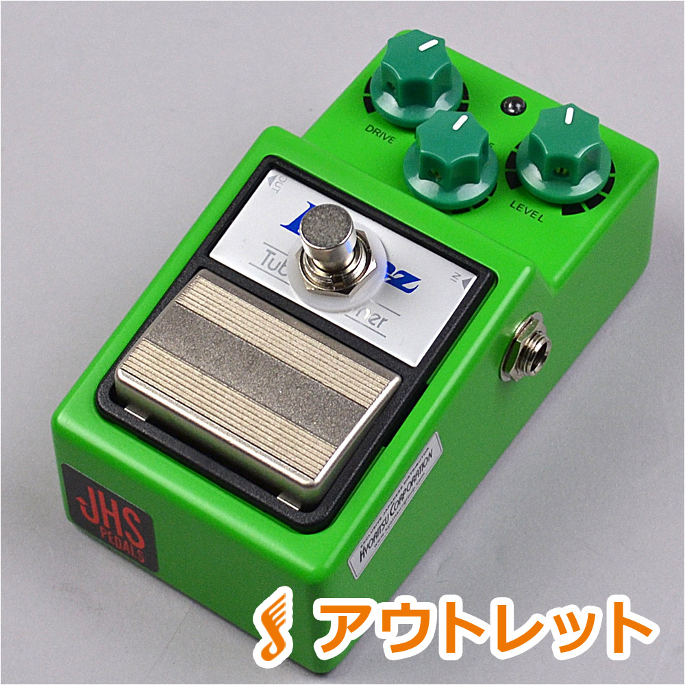 JHS Pedals TS9 Strong Mod +True Bypass オーバードライブ 【JHS ペダルス】【りんくうプレミアムアウトレット店】【アウトレット】