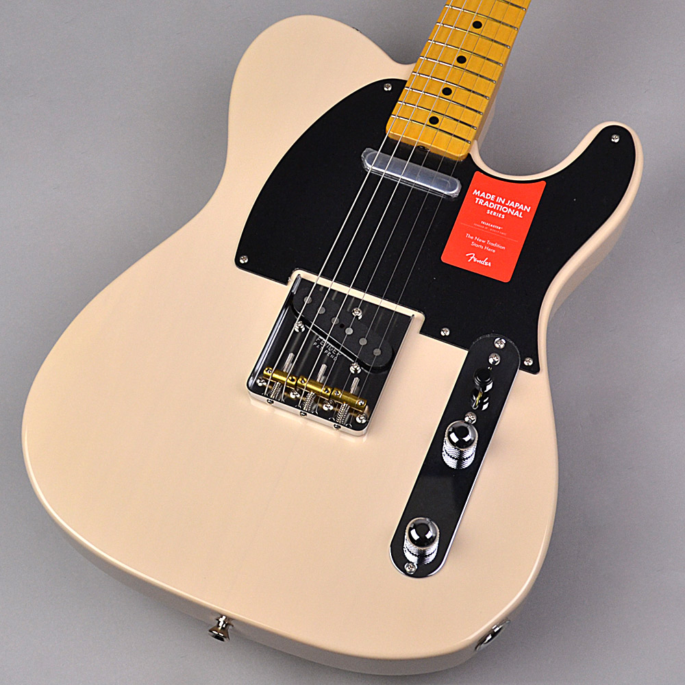 Fender Made in Japan Traditional 50s Telecaster US Blonde 【フェンダー ジャパントラディショナル】【未展示品・専任担当者による調整つき】