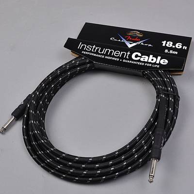 Fender CUSTOM SHOP PERFORMANCE SERIES CABLES (STRAIGHT-STRAIGHT ANGLE) 18.6ft シールド 【フェンダー】【りんくうプレミアムアウトレット店】【新品】