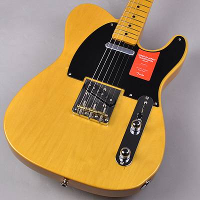 Fender Made in Japan Traditional 50s Telecaster Vintage Natural エレキギター 【フェンダー ジャパントラディショナル】【未展示品・専任担当者による調整つき】