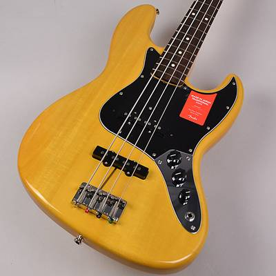 Fender Made in Japan Traditional 60s Jazz Bass Vintage Natural 【フェンダー ジャズベ】【未展示品・専任担当者による調整つき】