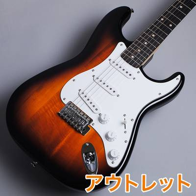 Squier by Fender Affinity Series Stratocaster Rosewood Fingerboard BSB(ブラウンサンバースト) エレキギター 【スクワイヤー / スクワイア】【アウトレット】【現物画像】
