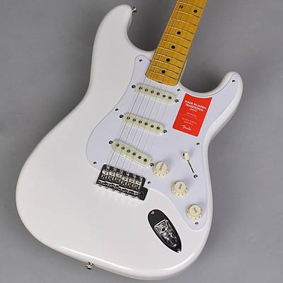 Fender Made in Japan Traditional 50s Stratocaster Arctic White エレキギター 【フェンダー ジャパントラディショナル】【未展示品・専任担当者による調整つき】
