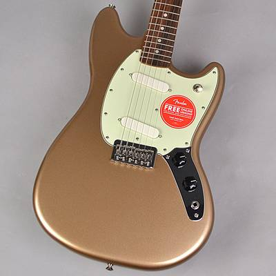 Fender Player Mustang Firemist Gold エレキギター 【フェンダー プレイヤームスタング】【未展示品・専任担当者による調整済み】