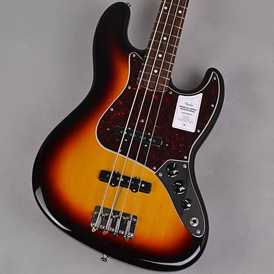 Fender Made In Japan Traditional 60s Jazz Bass 3-color Sunburst ジャズベース 【フェンダー】【未展示品・専任担当者による調整済み】