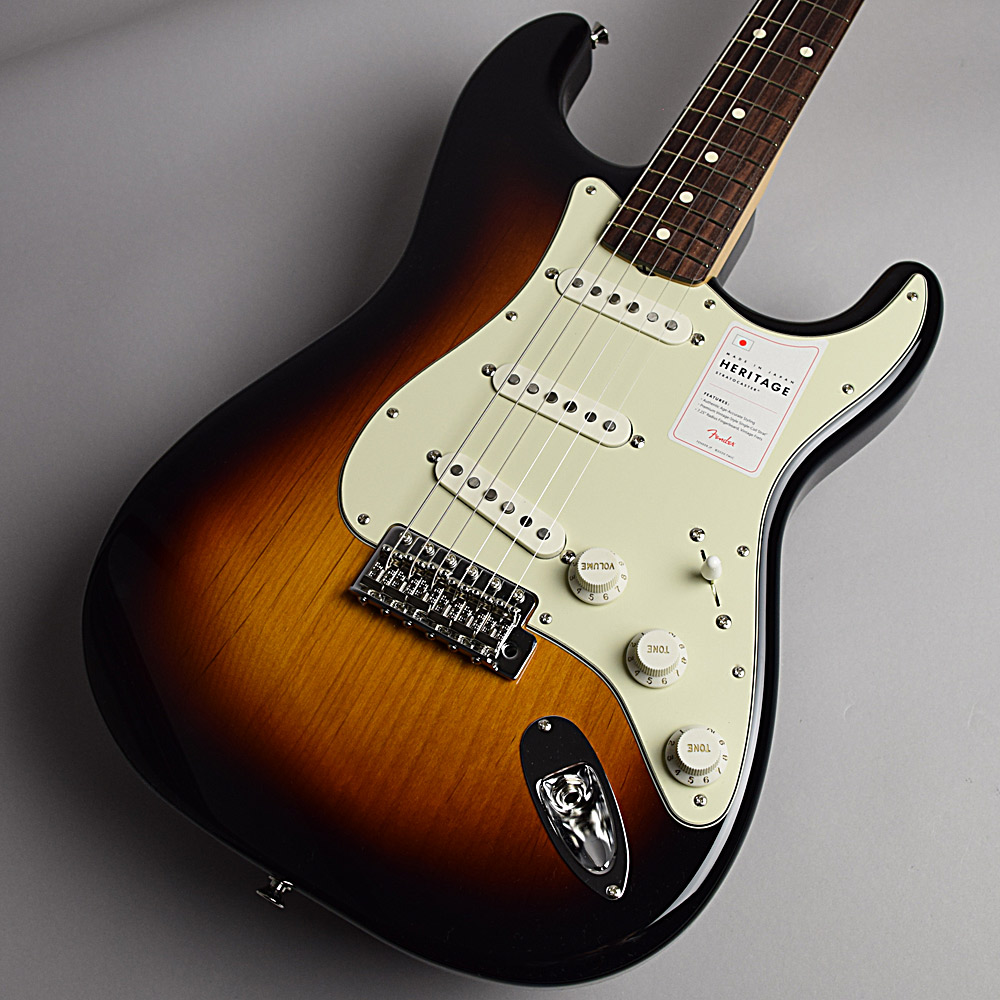 Fender Mede In Japan Heritage 60s Stratocaster エレキギター 【フェンダー ヘリテイジ ストラトキャスター】【未展示品】