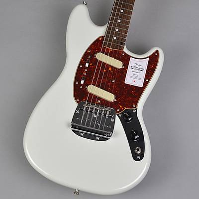 Fender Made In Japan Traditonal 60s Mustang Olympic White エレキギター 【フェンダー ムスタング】【未展示品・専任担当者による調整済み】