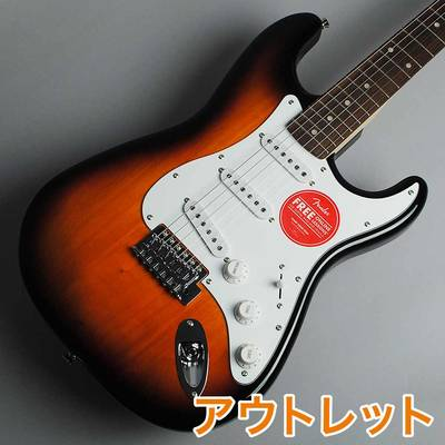 Squier by Fender Affinity Series Stratocaster Maple Fingerboard 2CS(2カラーサンバースト) エレキギター 【スクワイヤー / スクワイア】【アウトレット】