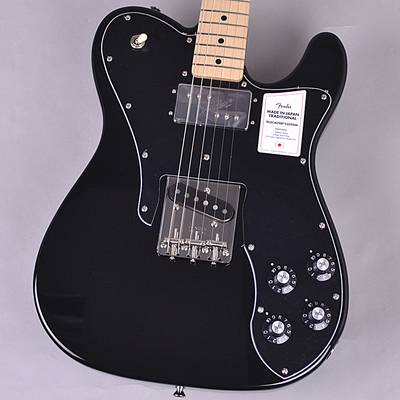 Fender Made in Japan Traditional 70s Telecaster Custom エレキギター 【フェンダー ジャパン テレキャスターカスタム 黒】【未展示品・専任担当者による調整済み】