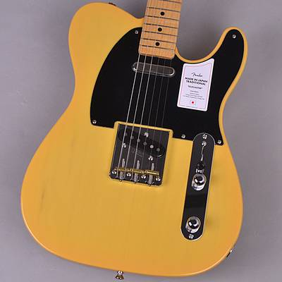 Fender Made In Japan Traditional 50s Telecaster Butterscotch Blonde 【フェンダー ジャパントラディショナル テレキャスター】【未展示品・専任担当者による調整済み】